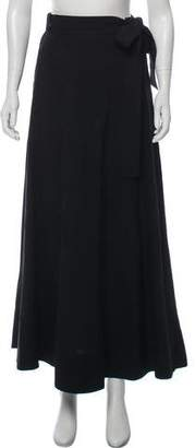 Burberry Maxi Wrap Skirt