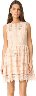 BB Dakota Elissa Crochet Lace Dress $120 thestylecure.com