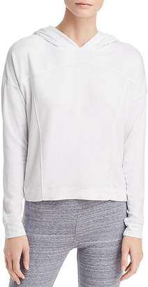 Andrew Marc Performance Hooded Seamed Sweatshirt