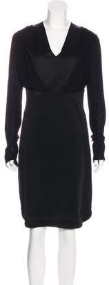 Givenchy Layered Knee-Length Dress