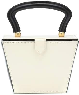 STAUD Mini Sadie leather box bag