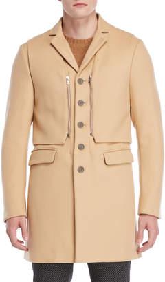 Patrizia Pepe Wool Overcoat