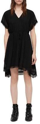 AllSaints Keira Shimmer Studded Dress