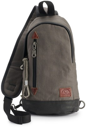 The Same Direction Urban Light Coated Canvas Sling Bag