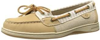 Sperry Women's Angelfish Stripe Boat Shoe