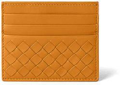 Bottega Veneta Woven Leather Credit Card Case