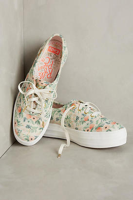 Keds x Rifle Paper Co. Sneakers $58 thestylecure.com