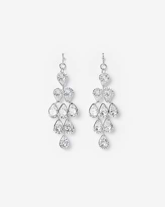 Express Waterfall Cubic Zirconia Earrings