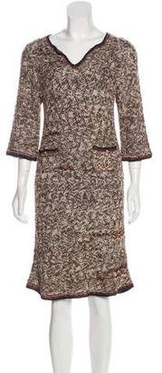 Chanel Knit Knee-Length Dress