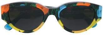 RetroSuperFuture X ANDY WARHOL floral print sunglasses