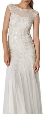 Phase Eight Bridal Sabina Embellished Wedding Dress, Pearl