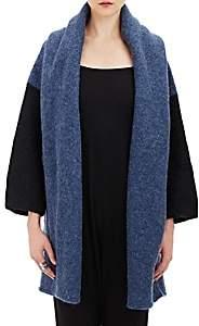 LAUREN MANOOGIAN Women's Capote Open-Front Coat-Blue