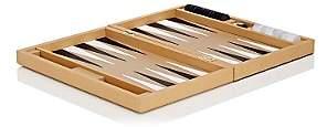 Barneys New York Leather Backgammon Set