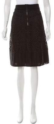 A.L.C. Lace Knee-Length Skirt w/ Tags