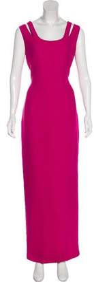 Gianni Versace Sleeveless Evening Dress