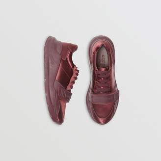 Burberry Satin Sneakers