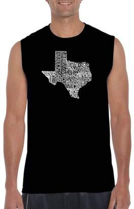The Great Pop Culture Big Men's Sleeveless T-Shirt State of Texas