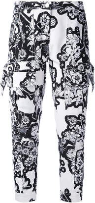 Carven patterned trousers