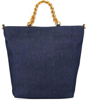 Neiman Marcus Chain Shopper Tote Bag