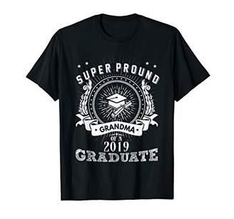Super Proud Grandma Of A 2019 Graduate Shirts Sunflower