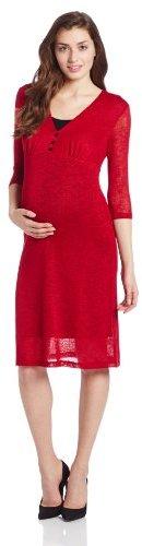 NOM Women's Maternity Maternity Hef Dress