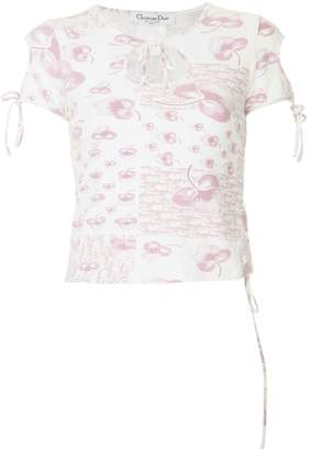 Christian Dior Pre-Owned short sleeve top