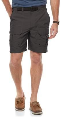 Croft & Barrow Big & Tall Outdoor Regular-Fit Belted Performance Cargo Shorts