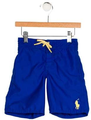 Polo Ralph Lauren Boys' Embroidered Swim Trunks