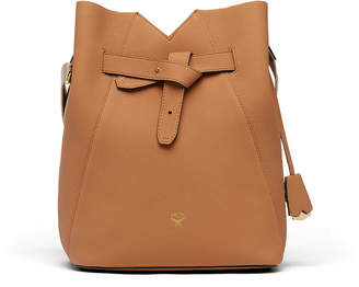 MCM Dessau Drawstring In Grained Leather