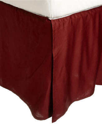 Superior 300 Thread Count Egyptian Cotton Solid Bed Skirt - Twin Bedding