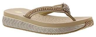 Volatile Women's Pineapple Wedge Sandal