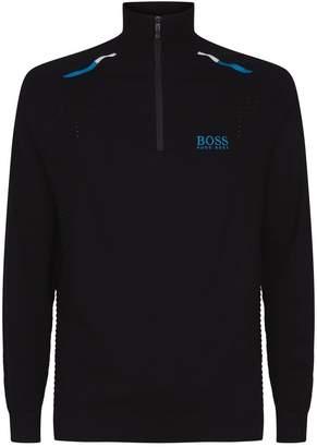 BOSS Half Zip Sweater