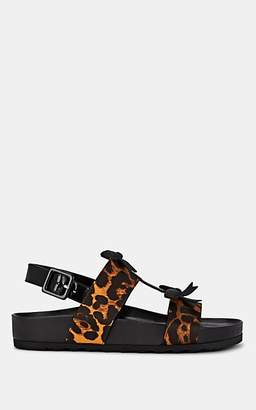 Fabrizio Viti Women's Berkley Leopard-Printed Slingback-Strap Sandals