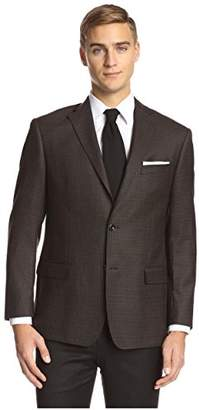 Franklin Tailored Men's Small Check Triton Sportcoat