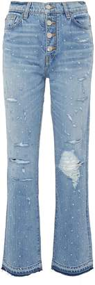 Amiri Glass crystal jeans