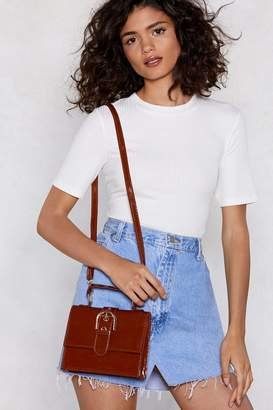 Nasty Gal WANT Give a Buckle Crossbody Bag