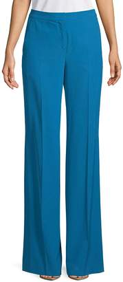 Akris Women's Christa Printed Silk Trousers