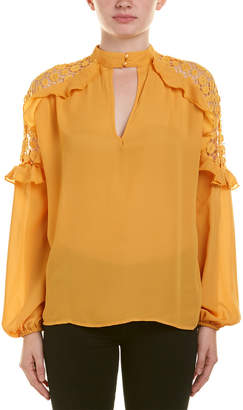 Aiden Keyhole Top