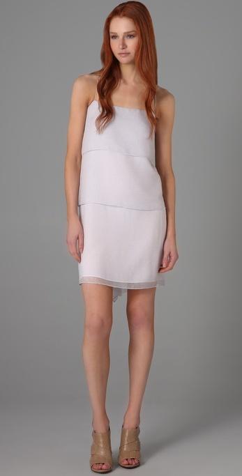 Mason by Michelle Mason Three Tier Dress