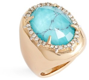 Women's Alexis Bittar Encrusted Stone Ring $195 thestylecure.com