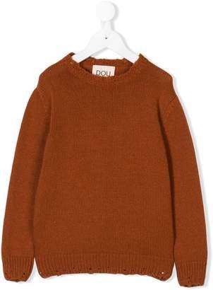 Douuod Kids distressed knit sweater
