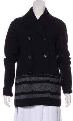 Celine Double-Breasted Wool Coat