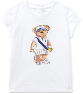Ralph Lauren Tennis Bear Cotton T-Shirt