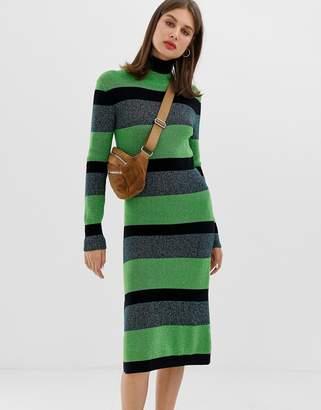 Tiger of Sweden stripe knitted dress