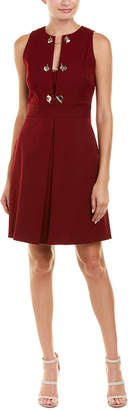 Derek Lam 10 Crosby Grommet Sheath Dress