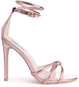 678a254b315 Morgan Linzi Rose Gold Strappy High Heel