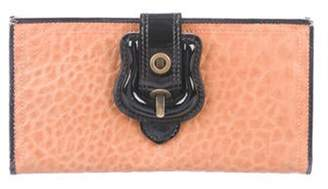 Fendi Leather B. Wallet Cognac Leather B. Wallet