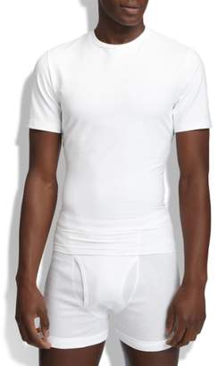 Spanx R) Crewneck Cotton Compression T-Shirt