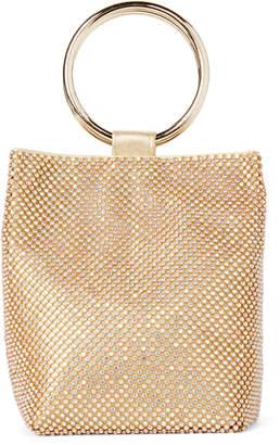 Jessica McClintock Gold Gwen Sparkle Convertible Clutch
