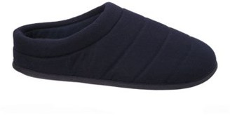 Dearfoams Men's Genuine Wool Quilted Clog Slippers